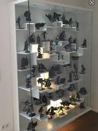 trophy display cabinets 48 trophy display case w frameless design adjustable shelves