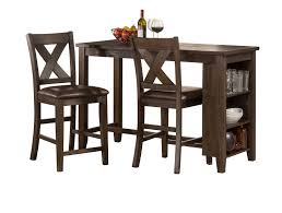 3 piece counter height table set hillsdale spencer 3 piece counter height dining set with x back