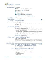 Resume Template In Latex Europass Cv Latex Template Sharelatex Online Latex Editor