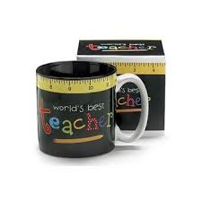 2 teach is 2 touch lives teachers coffee mug