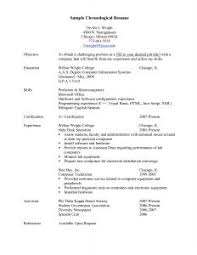 exle of chronological resume sle chronological resume musiccityspiritsandcocktail