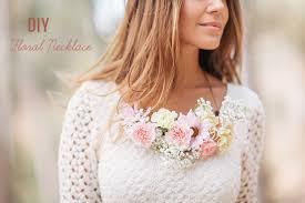 flower necklace wedding images Diy floral necklace jpg