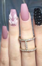 423 best nails images on pinterest coffin nails bling nails and