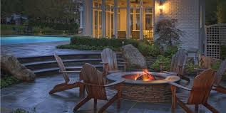 Backyard Stone Fire Pit by Outdoor Fire Pit Design Ideas Landscaping Network