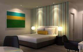 Interior Home Design - Wallpaper design for bedroom