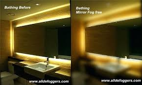 Heated Bathroom Mirror With Light Bathroom Mirrors With Lights Bathroom Mirrors And Lights For