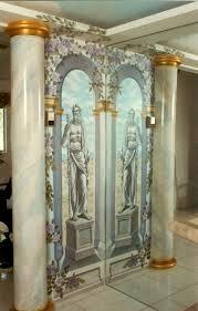 Dining Room Columns Bonnie Siracusa Murals Fine Art