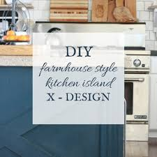 Island Style Kitchen Do It Yourself Kitchen Island X Design Twelve On Main