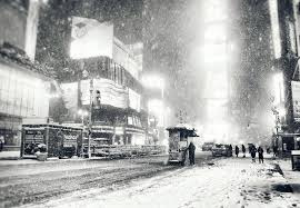 new york city snow winter in times square flickr