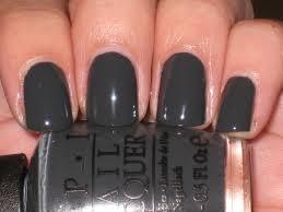 gray opi nail polish bridesmaid bag nails pinterest opi