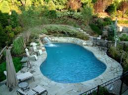 swimming pool designs with waterfalls natural swimming pool and