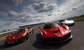 hybrid supercars holy trinity mclaren porsche ferrari hypercars grand tour