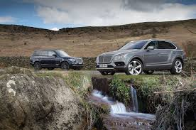 bentley suv 2016 bentley bentayga vs range rover luxury suv comparison hell