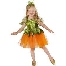 Pumpkin Halloween Costume Pumpkin Princess Toddler Dress Halloween Costume Walmart Com