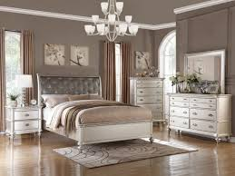 Antique Finish Bedroom Furniture Antique Silver Finish Bed