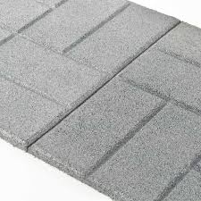 Rubber Mats For Backyard by Rubber Pavers Rubber Patio Paver Tiles