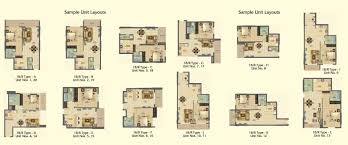 oakwood floor plans oakwood residence floor plans business bay
