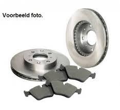 kit brake pads and discs rear opel astra g corsa c zafira a 5