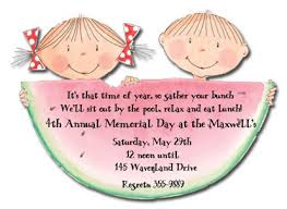 watermelon die cut invitations myexpression 2658
