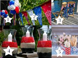 fourth of july decorations decorating ideas for the fourth of july