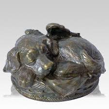 dog cremation dog cremation urn antique bronze