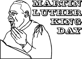 Martin Luther King Jr Coloring Pages Ngbasic Com Mlk Coloring Pages