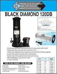 black diamond 120 cartridge filter system tank only