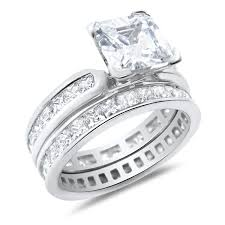 wedding rings his hers him and wedding rings set sterling silver wedding bands his