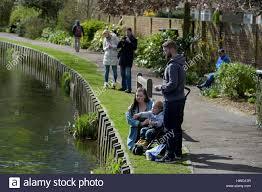 westgate park canterbury kent uk 21st march 2017 visitors to