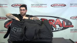 fox motocross gear nz fox racing shuttle gear bag review chapmoto com youtube