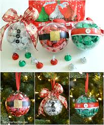 ornament gift diy christmas ornaments with hershey s kisses small christmas