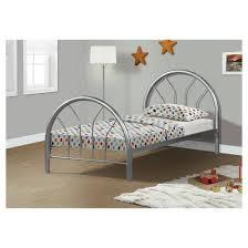 metal kids bed frame twin silver everyroom target