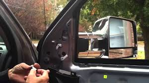 toyota side mirror replacement replacing toyota tundra mirror