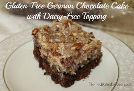 gluten free german chocolate cake recipe