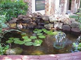 Backyard Ponds And Fountains Front Yard Small Pond Ideas Make Your Garden Interesting With The