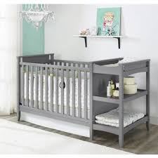 White Crib And Changing Table On Me 5 In 1 Brody White Convertible Crib With Changer