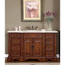 58 Inch Bathroom Vanity by Silkroad Exclusive Wfh 0199 Cm Uwc 58 Sabina 58
