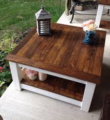Homemade End Tables by Best 25 Refinished Coffee Tables Ideas Only On Pinterest