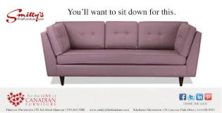 juliet lammers writing smitty s fine furniture sit down for this ad