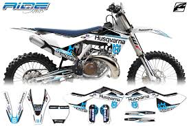 graphics for motocross bikes husqvarna ride series mx graphics kit ringmaster