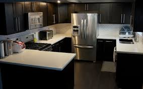 Shaker Kitchen Cabinets What To Expect With Espresso Shaker Style Cabinets In Stock Kitchens