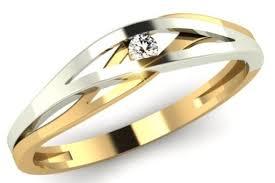 pierscionek zareczynowy 55 złoty pierścionek zaręczynowy z cyrkonia r9 6142574169