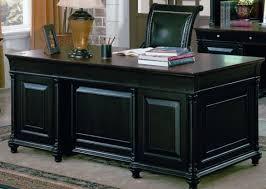 Black Desk Office Black Executive Desk Desk
