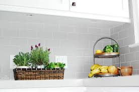 kitchen ceramic subway tiles for kitchen backsplash amys office