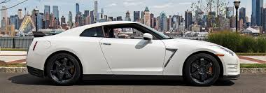 white nissan car exotic car rental