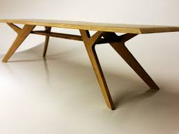 rectangle bamboo dining table by b compact handkrafted