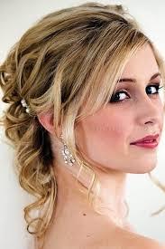 half up half down wedding hairstyles half updo for brides