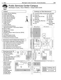 Beaverton Oregon Map by Facilities
