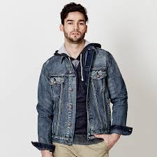 mens jean jacket a casual choice with cool effects
