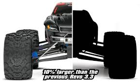 rc monster truck nitro traxxas the new revo 3 3 nitro monster truck